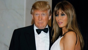 In this April 30, 2011, file photo Donald Trump, left, and Melania Trump arrive for the White House Correspondents Dinner in Washington. (AP Photo / Alex Brandon, File)