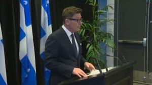Quebec Treasury Board President Pierre Moreau