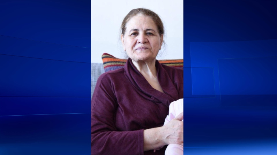 Leila Tatari, 69, has been missing since Feb. 25. She speaks neither English or French and is unfamiliar with Montreal. (Photo via SPVM)