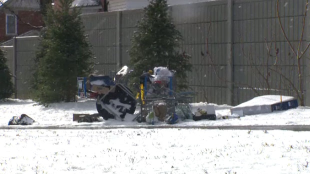 The City of Kitchener said the dumping of garbage on city or regional property is illegal and enforceable under bylaws, which could see fines levied against those who dump illegally.