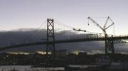 The Macdonald Bridge is seen on Sunday, Feb. 26, 2017.