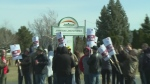 Unifor Local 195 workers are on strike