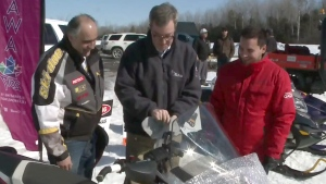 CTV Ottawa: Mayor gets back on a snowmobile