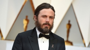 Casey Affleck arrives at the Oscars on Sunday, Feb. 26, 2017, at the Dolby Theatre in Los Angeles. (Photo by Jordan Strauss/Invision/AP)