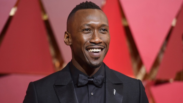 Mahershala Ali arrives at the Oscars on Sunday, Feb. 26, 2017, at the Dolby Theatre in Los Angeles. (Photo by Richard Shotwell/Invision/AP)