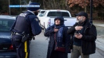 Mounties detained at least two families – including children – who illegally crossed from the United States into British Columbia over the weekend. (Photo: Reuters/Ben Nelms). Feb. 26, 2017.