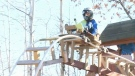 Two Wisconsin teens built an epic backyard roller
