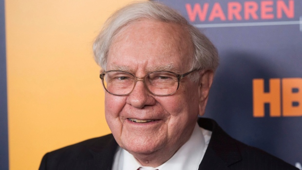 """FILE - In this Thursday, Jan. 19, 2017, file photo, Warren Buffett attends the world premiere screening of HBO's """"Becoming Warren Buffett"""" at The Museum of Modern Art in New York. (Photo by Charles Sykes/Invision/AP, File)"""