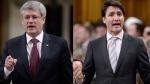 Harper, Trudeau