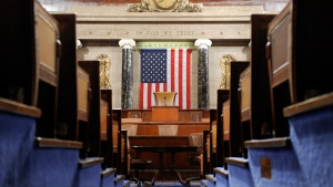 The House Chamber on Capitol Hill in Washington, on Dec. 8, 2008. (Susan Walsh / AP)