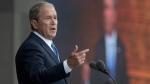 Former U.S. President George W. Bush speaks in Washington, on Sept. 24, 2016. (Manuel Balce Ceneta / AP)