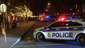A section of Preston St. was closed and the public was asked to avoid the area while police investigated an assault on Sunday, Feb. 26, 2017.