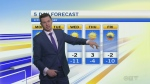 Forecast: Western winds bringing some warmth