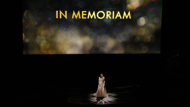 In Memoriam tribute at the Oscars 2017