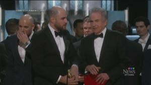 CTV Ottawa: Epic mistake at the 2017 Oscars
