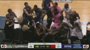 On-court brawl leads to suspensions for Titans