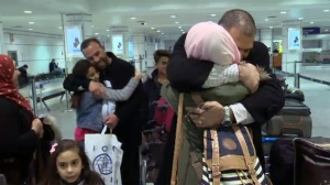 Adnan Al Mhamid is reunited with his brother Faker, four years after they fled Syria