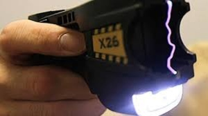 Police said during the confrontation, the suspect got a hold of a stun gun and fired it in the direction of an officer, who managed to avoid getting hit in the upper body. (File Photo)