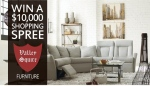 Enter for your chance to win a $10,000 Shopping Spree at Valley Squire Furniture!
