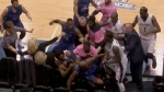 Suspensions, fines after NBL on-court brawl