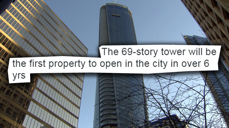 A tweet from The Trump Organization left many Vancouver residents scratching their heads on Monday, Feb. 27, 2017. (CTV photo illustration)