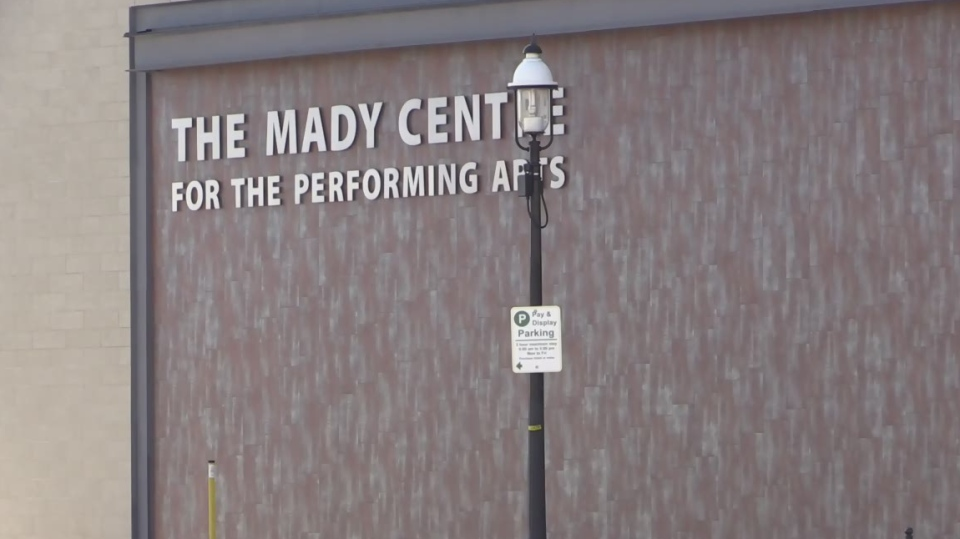 The Mady Centre for the Performing Arts, seen here on Feb 27, 2017 in Barrie, Ont will soon have a new name