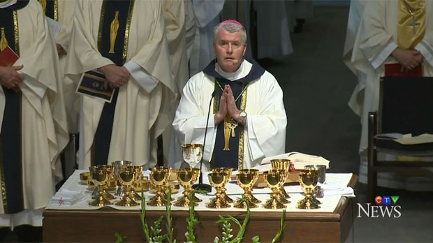 William McGrattan is the new Catholic Bishop of Calgary.