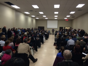 Ottawa residents pack in to a meeting on drug abuse and overdoses