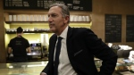In this image taken on Monday, Feb. 27, 2017, Starbucks CEO Howard Schultz stands at the Princi bakery, in Milan, Italy. (AP / Luca Bruno)