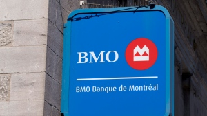 A Bank of Montreal sign is seen Tuesday, May 31, 2016 in Montreal. (Paul Chiasson/The Canadian Press)