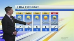 Forecast: Mild day in Calgary