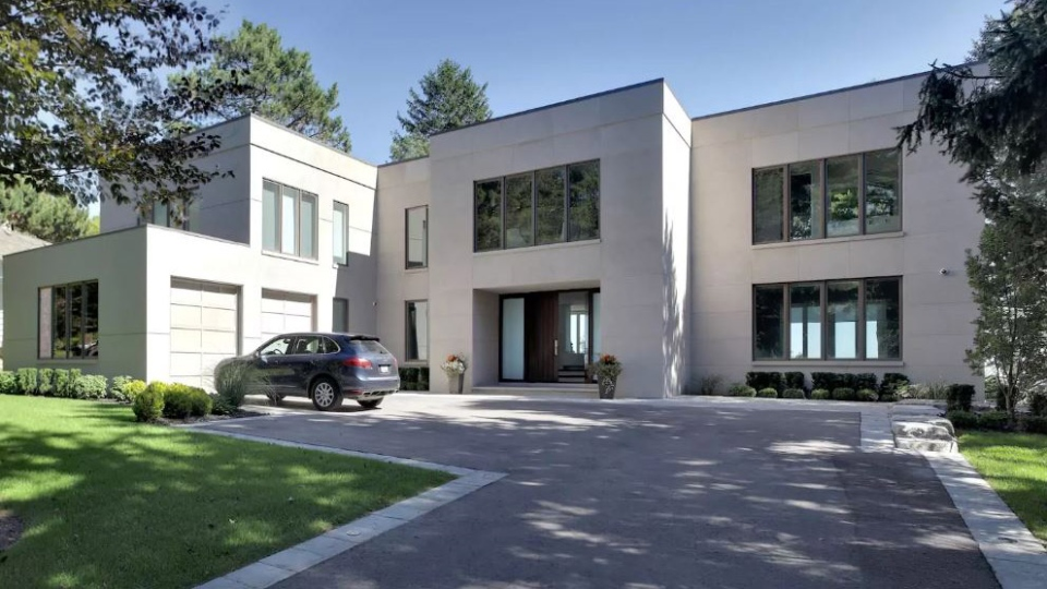 This modern luxury home in Scarborough, Ont., is the top earning Canadian property listed on the online hospitality marketplace Airbnb over the past year, according to research firm Airdna.