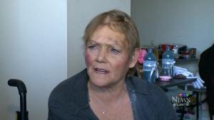Woman beaten, robbed