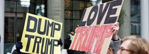 trump protest promo
