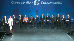 Conservative debate in Edmonton