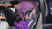 Winter jackets can create a car seat risk