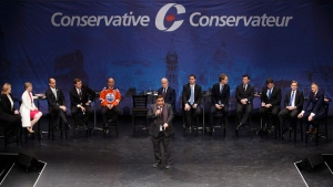 Conservative leadership debate