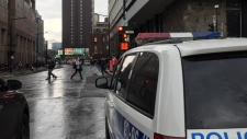 Montreal police, concordia
