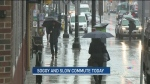 CTV Ottawa: Soggy and slow commute today