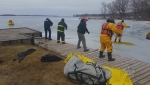 rice lake, rescue