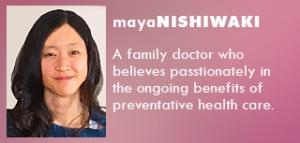 Maya Nishiwaki - Bio
