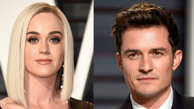 Katty Perry and Orlando Bloom