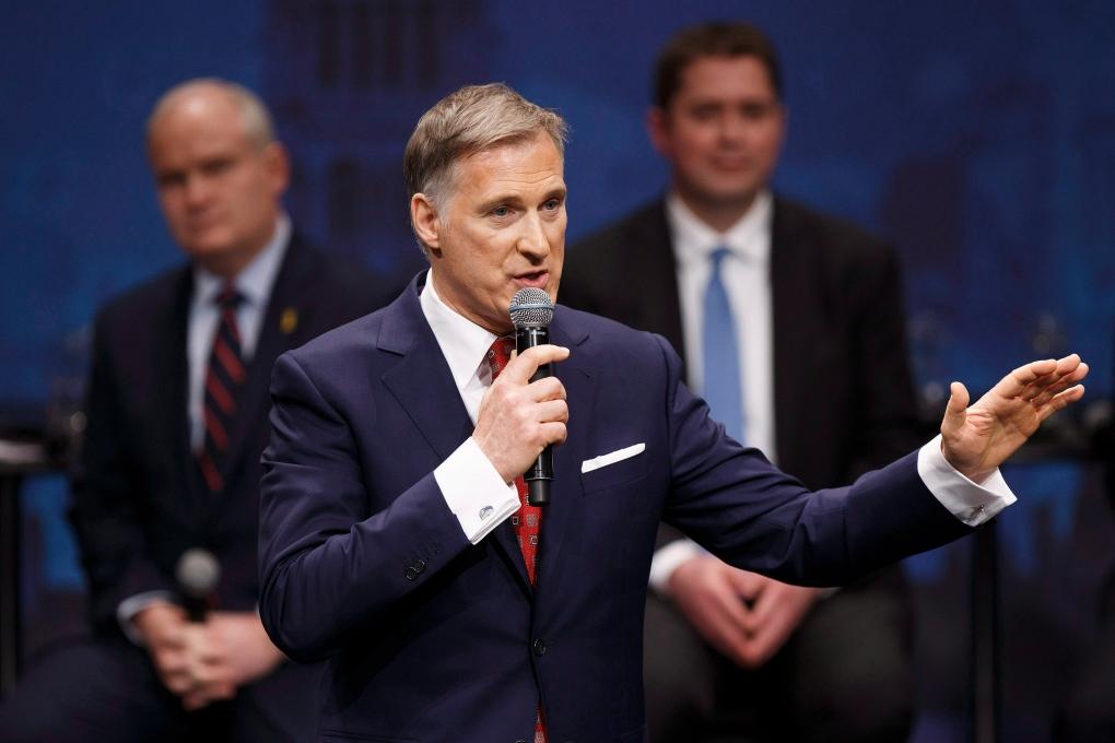 Maxime Bernier in Edmonton leadership debate