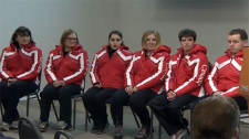 Southern Alberta athletes, Austria, World Winter G