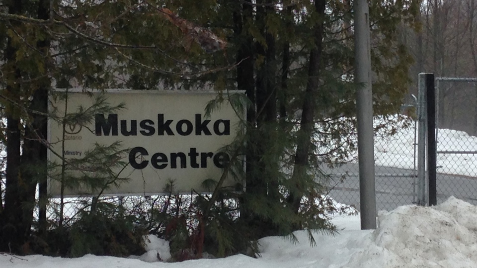 The old Muskoka Regional Centre can be seen on Wednesday, March 1, 2017 in Gravenhurst, Ont. (K.C. Colby/ CTV Barrie)