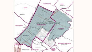 The new riding of Mont Royal Outremont will be in place for 2018