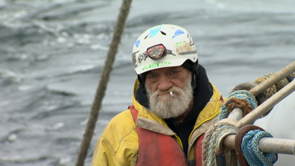 A herring fisherman is shown off Vancouver Island: (CTV News)