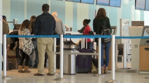 U.S. officials said the new screening measures will cover all 2,100 flights from around the world entering America on any given day.