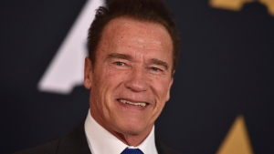 In this Nov. 12, 2016 file photo, Arnold Schwarzenegger arrives at the 2016 Governors Awards in Los Angeles. (Jordan Strauss / Invision)