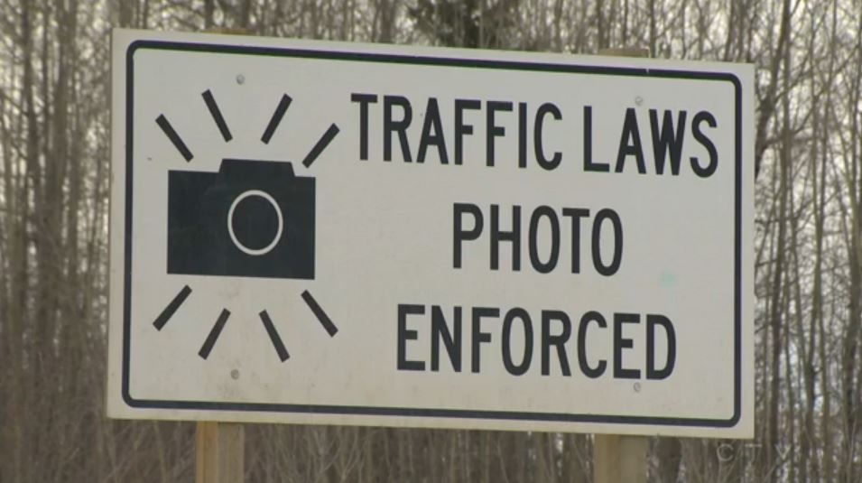 Most of the money from a photo radar ticket -- 73 per cent -- goes to the municipality.
